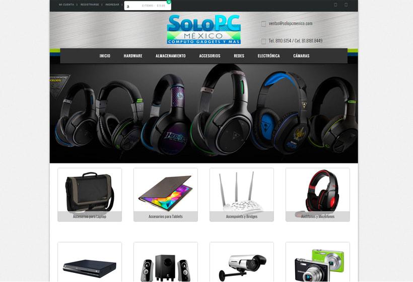 Sitio Web SOLO PC México 1