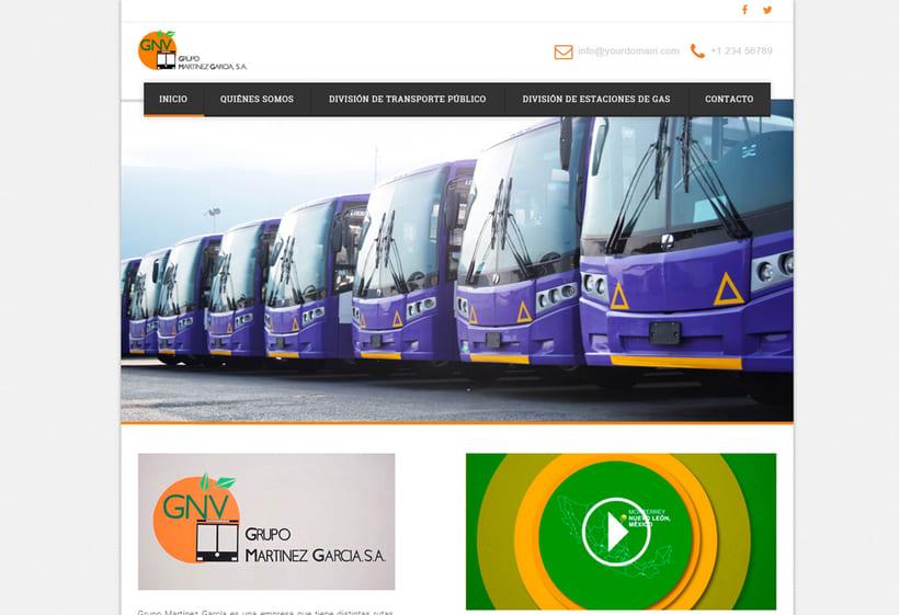 Sitio Web GNV 1