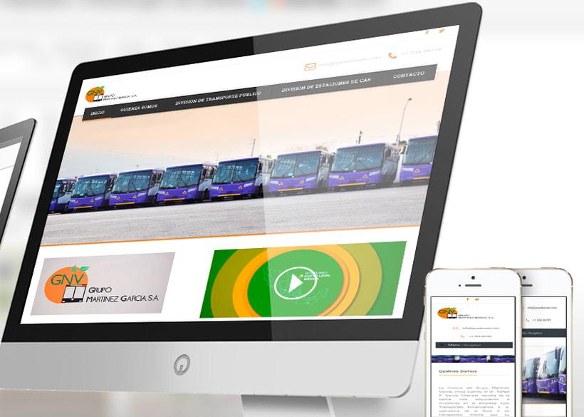 Sitio Web GNV 0
