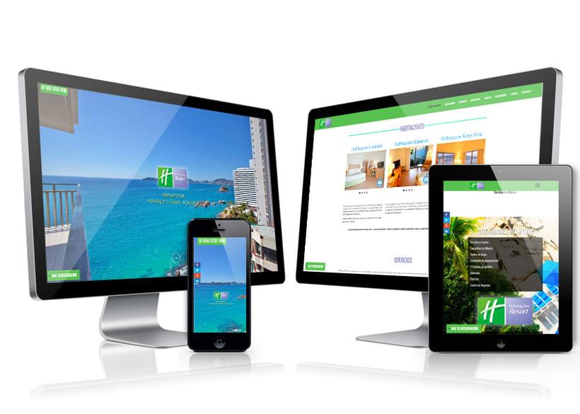 Sitio Web Holiday Inn Resort Acapulco 0