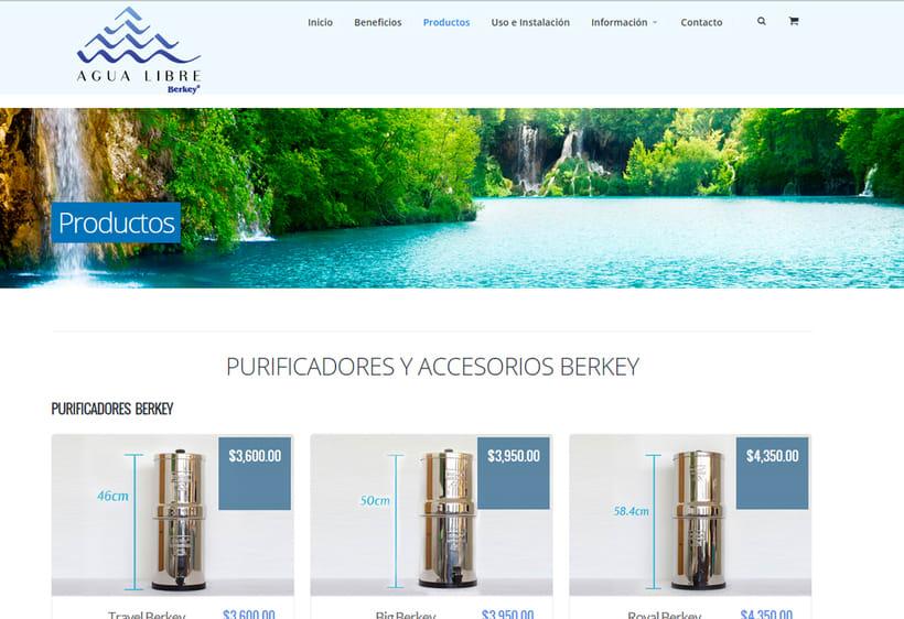 Sitio Web Agua Libre 1