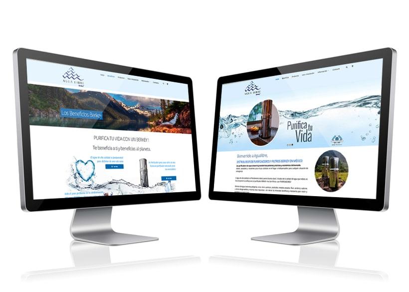 Sitio Web Agua Libre 0