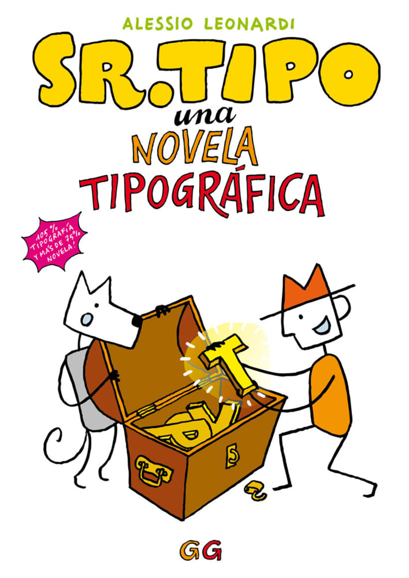 Sr. Tipo, una novela tipográfica en cómic 0
