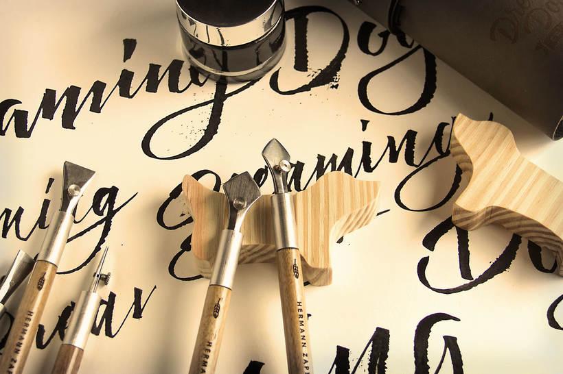 Dreaming Dogs, para amantes de la caligrafía y el dibujo 3