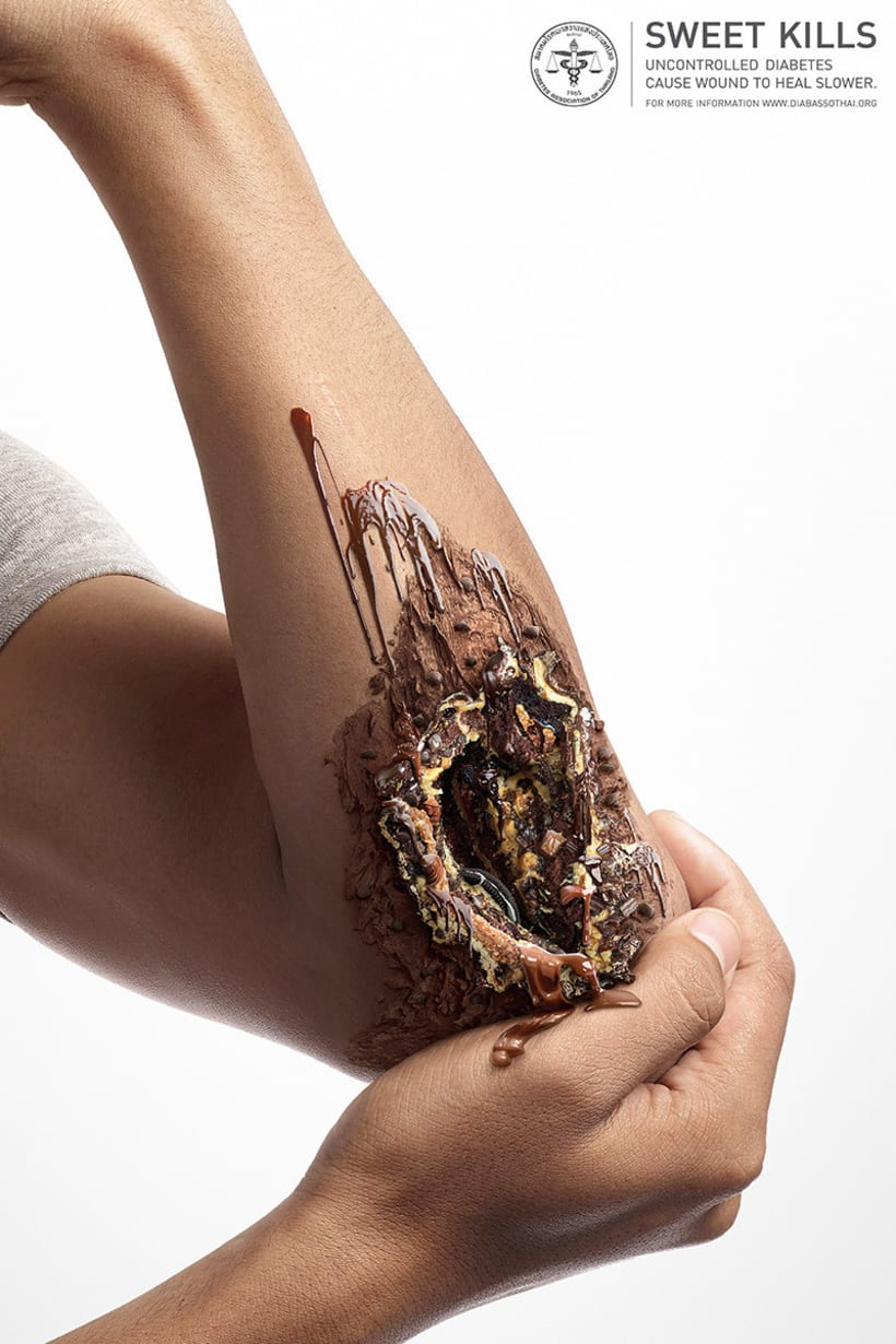 Sweet Kills: publicidad contra la diabetes 1