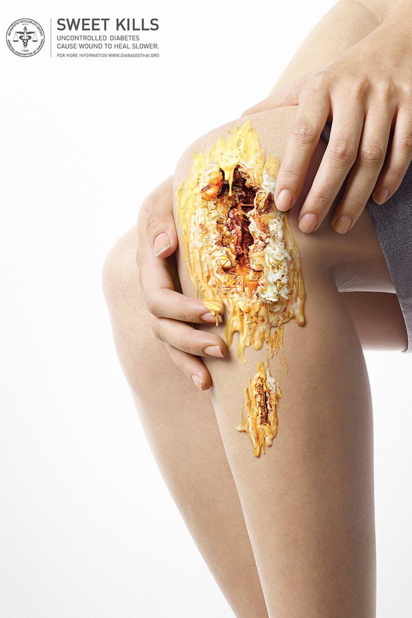 Sweet Kills: publicidad contra la diabetes 3