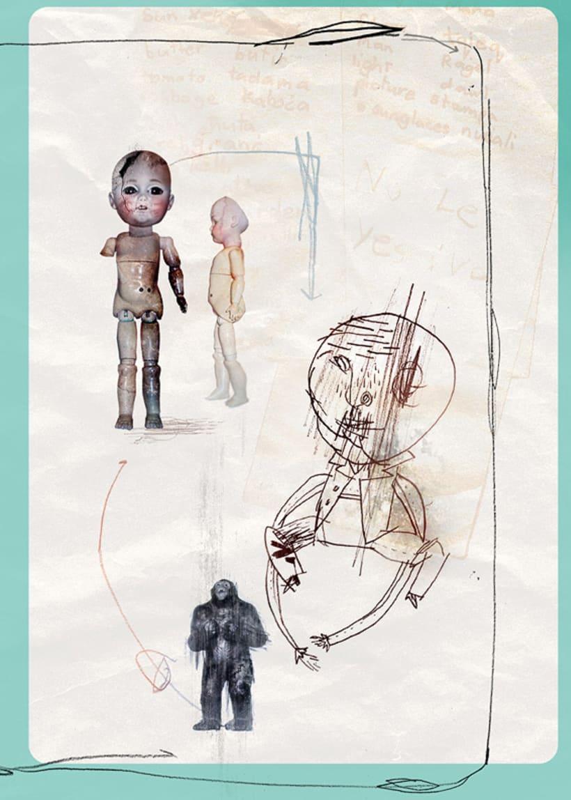 """Arte conceptual para """"El Orfanato"""" (2007), de J. A. Bayona 2"""