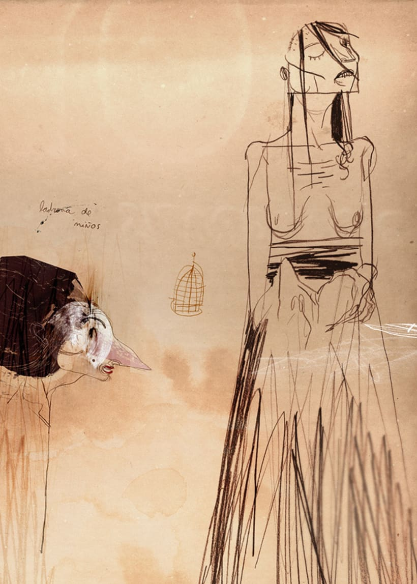 """Arte conceptual para """"El Orfanato"""" (2007), de J. A. Bayona 3"""