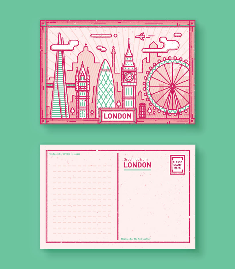 City Postcards 1