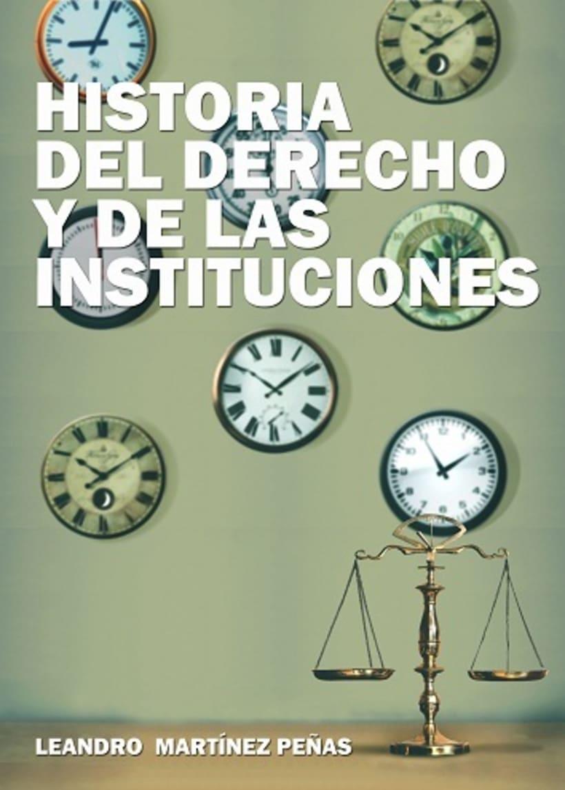 Diseño de cubierta: manual de Historia del Derecho -1