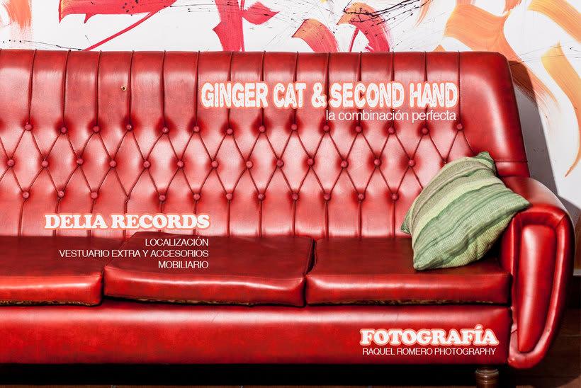 "LOOKBOOK ""Ginger Cat & Second Hand (Delia Records Store)"" 0"