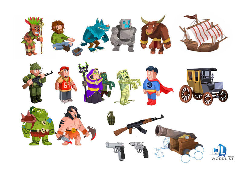 Props Characters 0