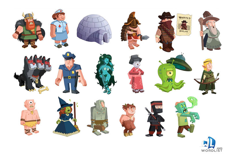 Props Characters 1