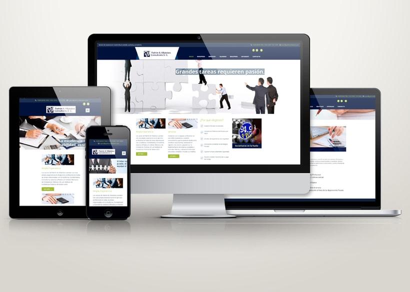 Sitio Web Padron y Villalobos Consultores 0
