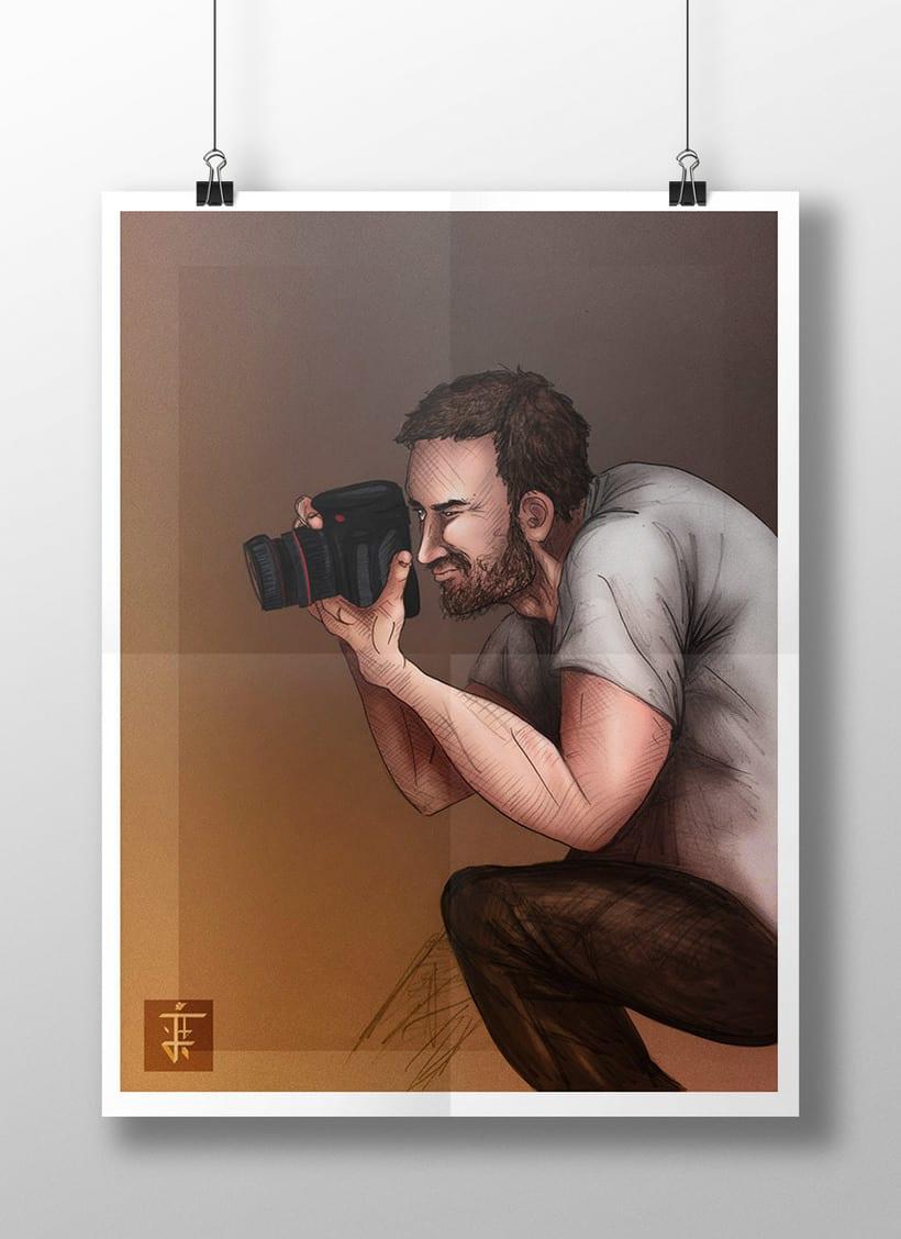 Ilustración Fotógrafo 0