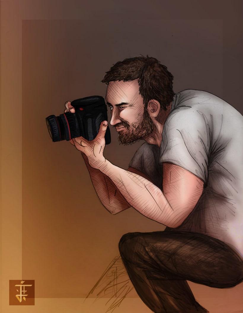 Ilustración Fotógrafo 1