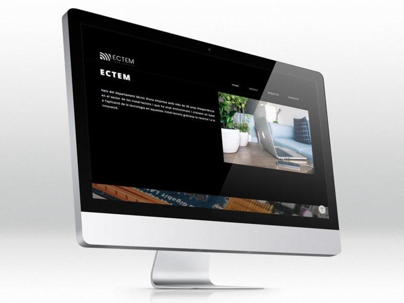 ECTEM. Web en fase beta 2