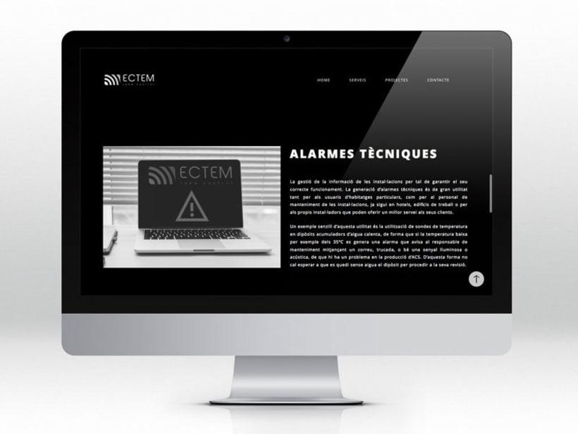 ECTEM. Web en fase beta 9