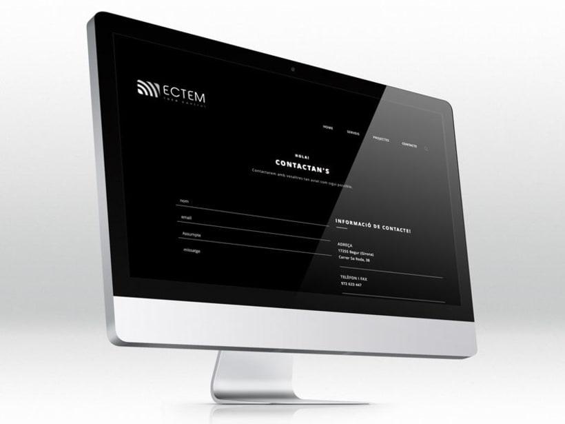ECTEM. Web en fase beta 11
