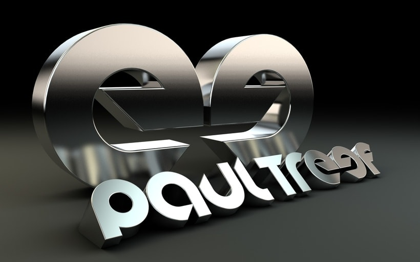 Logo 3D Paul Treef (Dj & producer) 0