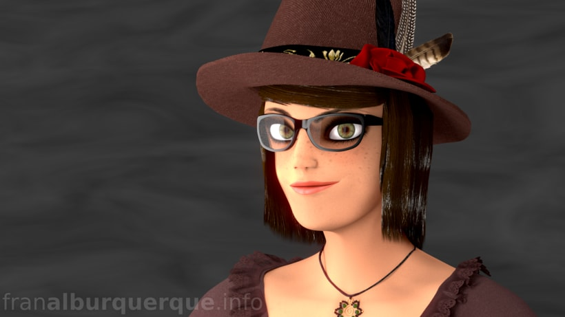 Emma, personaje 3D -1