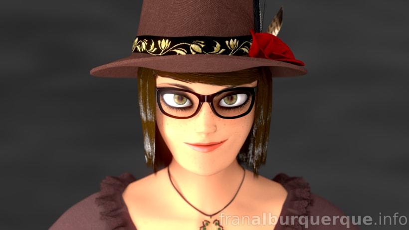 Emma, personaje 3D 0