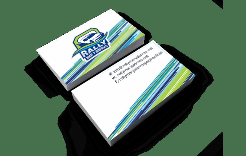 Rally Mar y Sierras, Branding  1