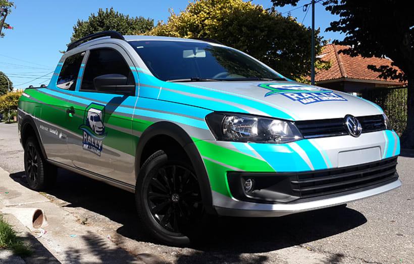 Rally Mar y Sierras, Branding  4