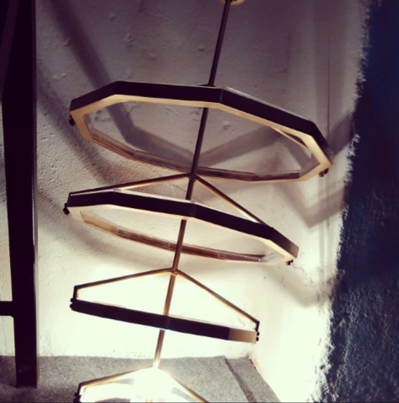Tale & Gest, , lámpara artesanal con estilo actual 1