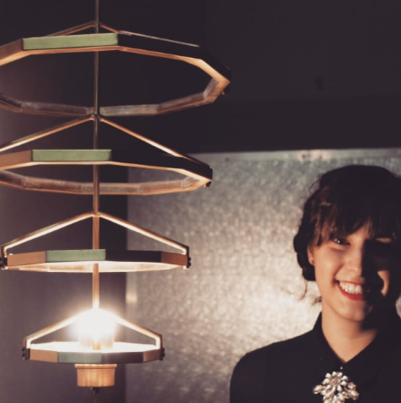 Tale & Gest, , lámpara artesanal con estilo actual 2