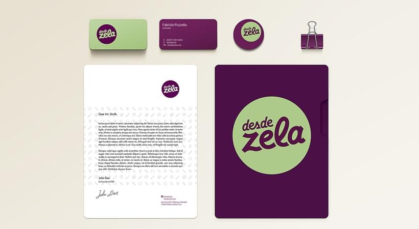 Desde Zela, Branding e identidad 1