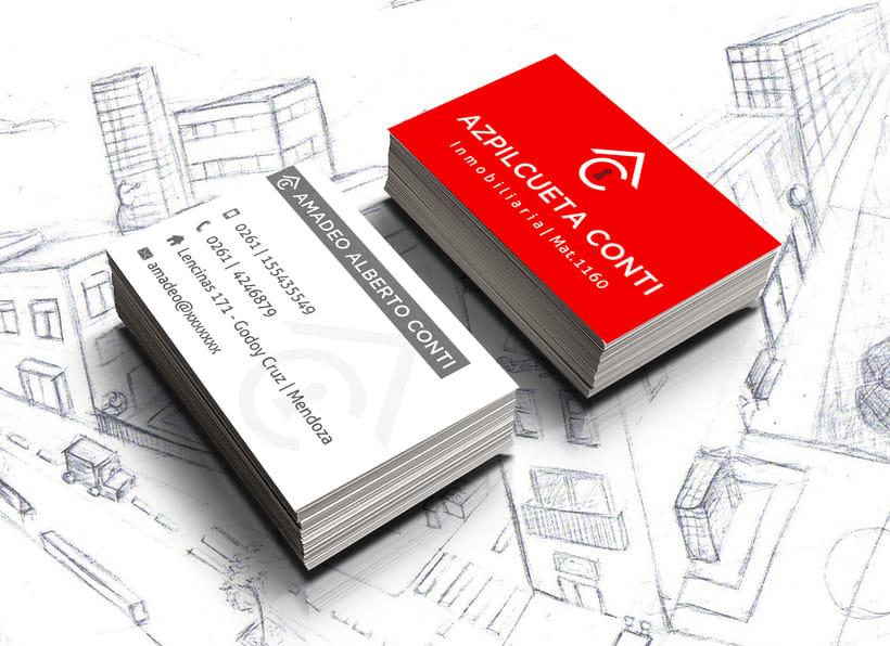Branding Inmobiliaria Azpilcueta Conti 0