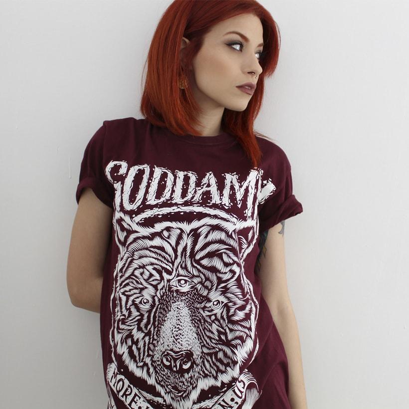 Camiseta Goddamn 1
