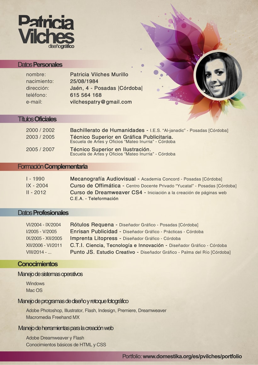 Curriculum Creativo 3