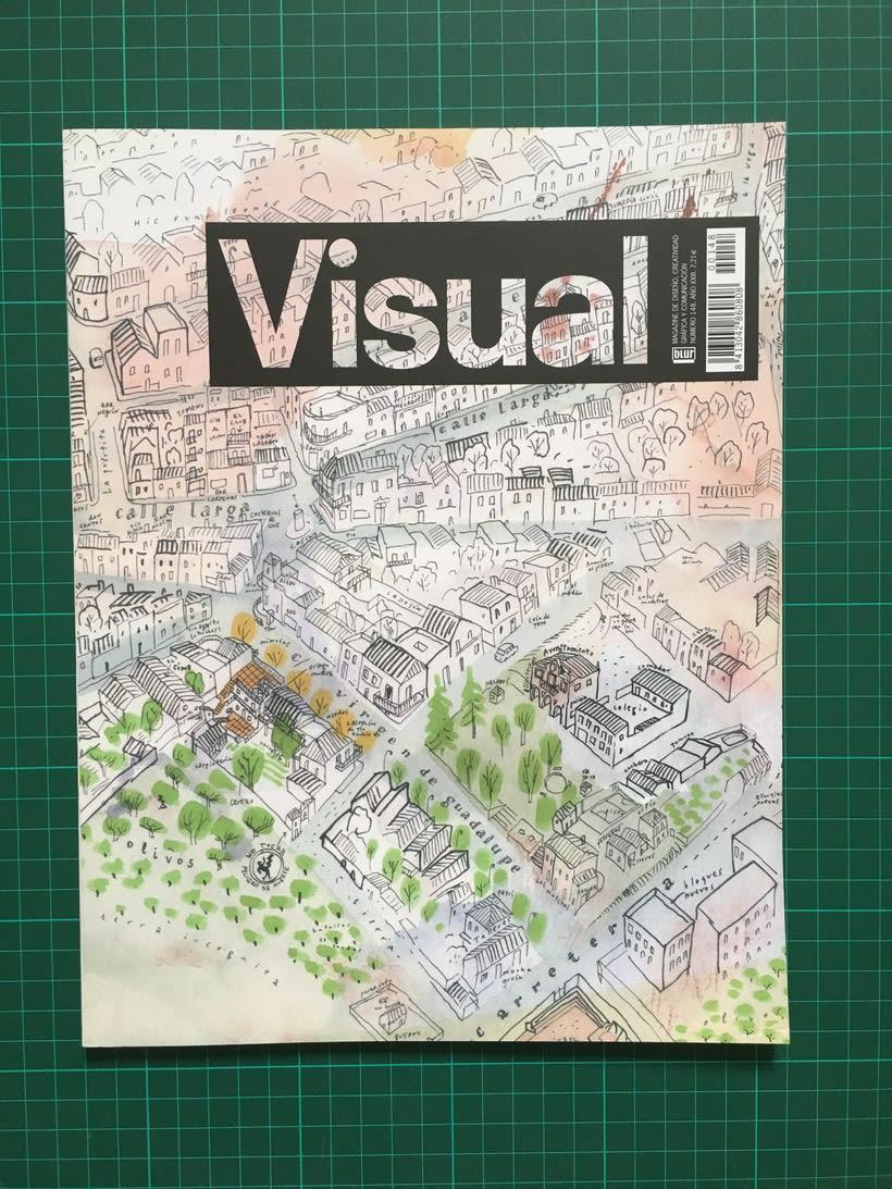 Lote de revistas Visual 2