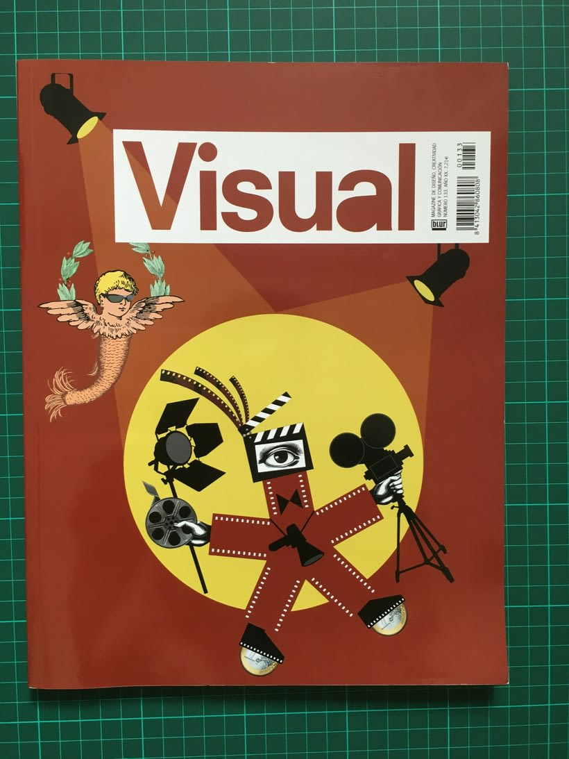 Lote de revistas Visual 6