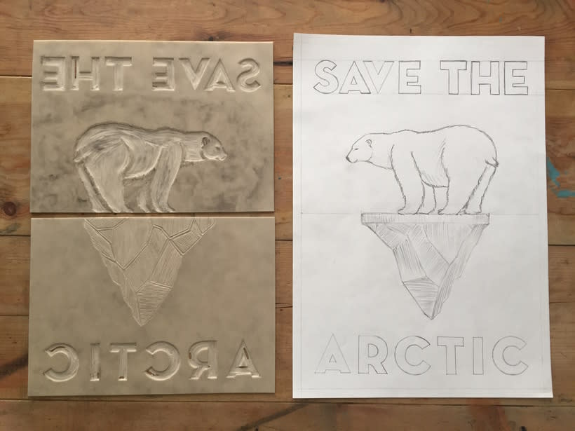 "Campaña para Greenpeace ""Save the Artic"" 1"