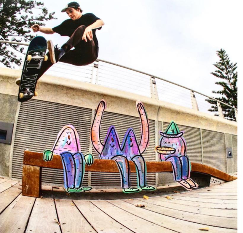 Lucas Beaufort, arte en el skateboarding 1