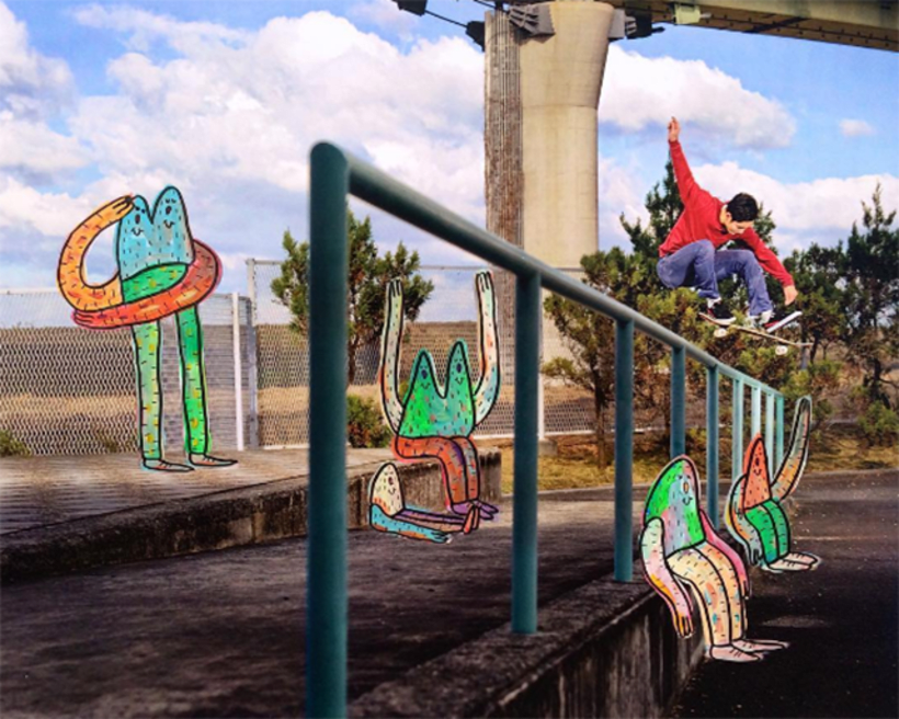Lucas Beaufort, arte en el skateboarding 2