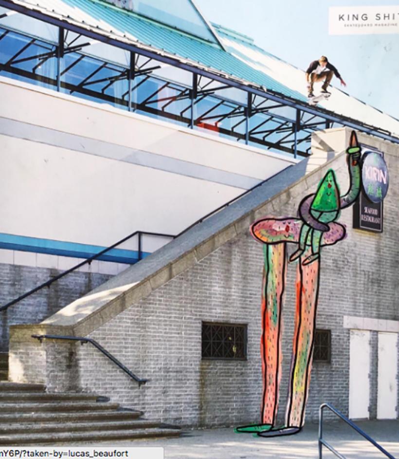Lucas Beaufort, arte en el skateboarding 3