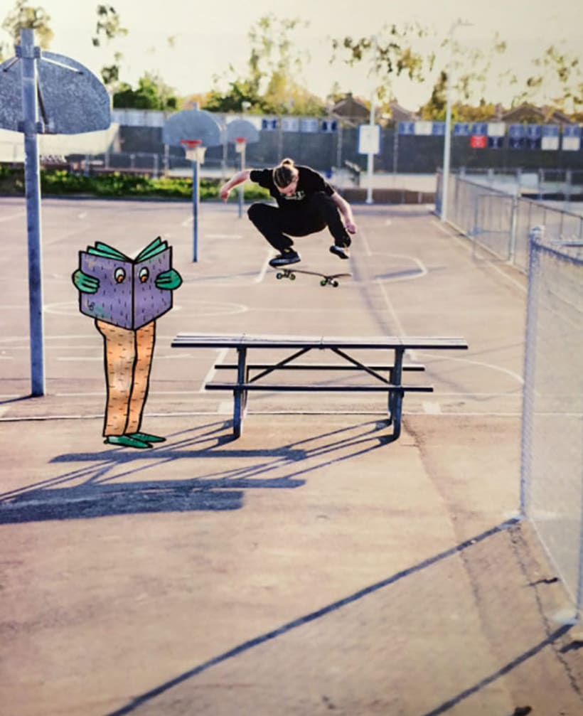 Lucas Beaufort, arte en el skateboarding 10