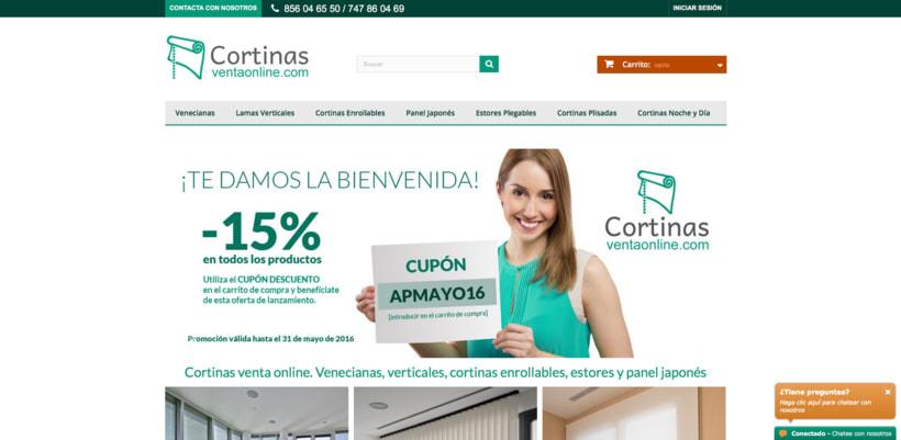 Tienda online de cortinas domestika - Tiendas de cortinas online ...