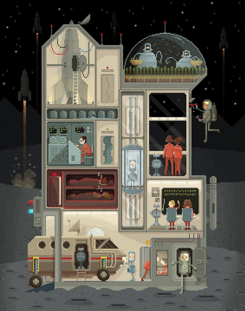 El mundo pixelado de Octavi Navarro 2
