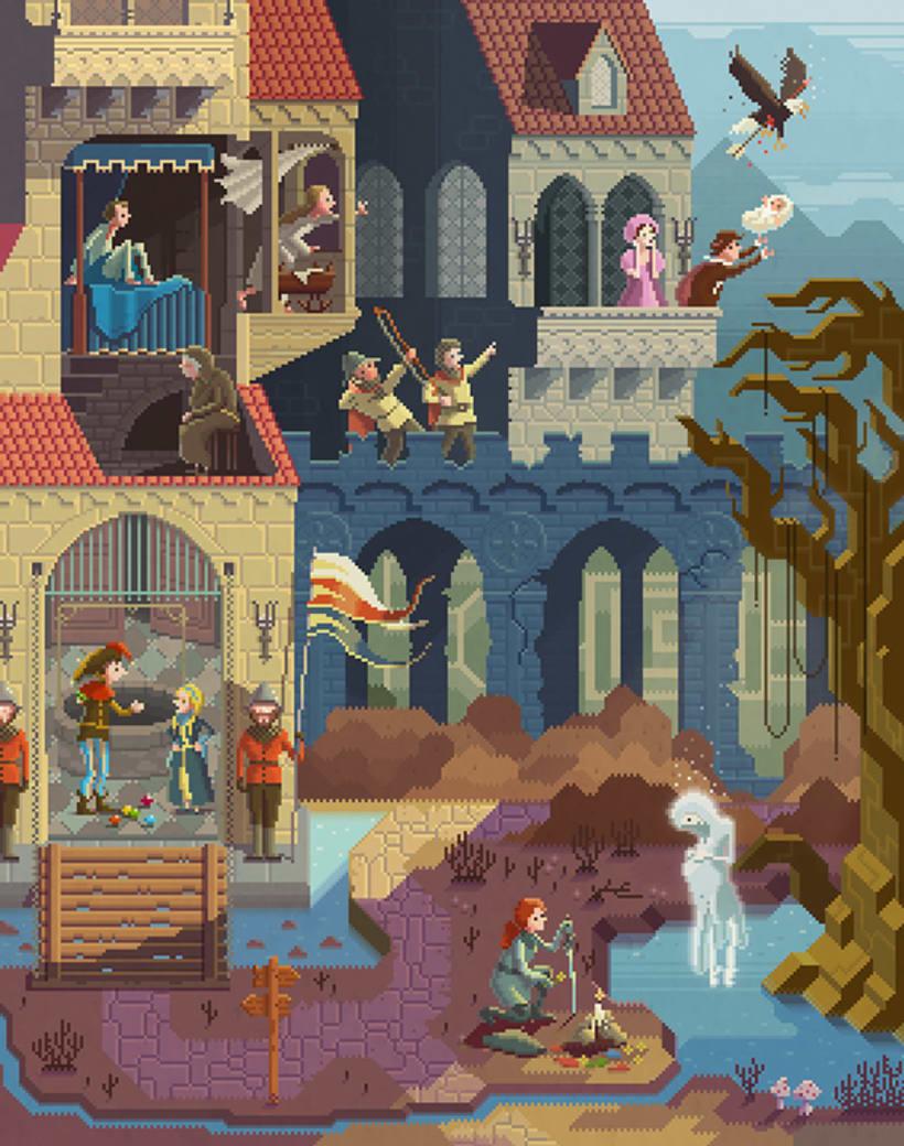 El mundo pixelado de Octavi Navarro 5