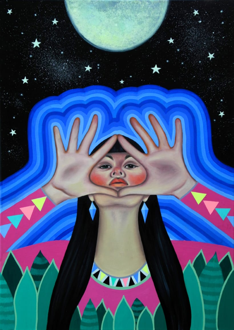 Paula Duró y su estilo místico  14
