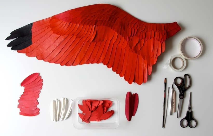 Escultura en papel de Diana Beltrán Herrera 9