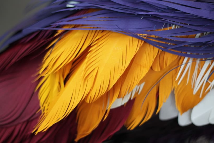 Escultura en papel de Diana Beltrán Herrera 10