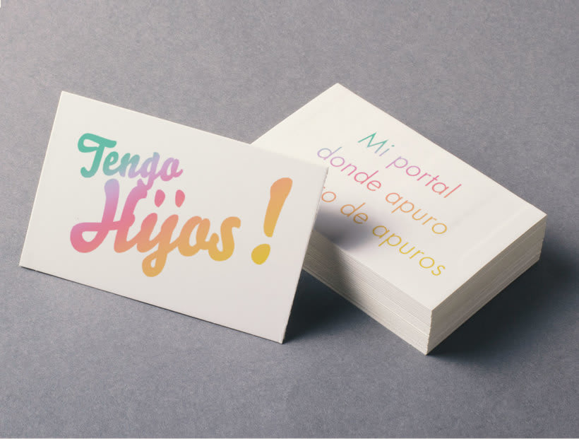 Tengo Hijos!, Identity for a parents in distress publications company 6