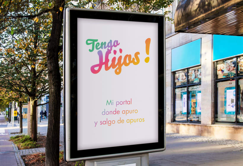 Tengo Hijos!, Identity for a parents in distress publications company 7
