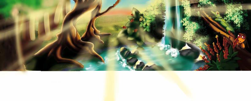 El reino de tierra mágica 0